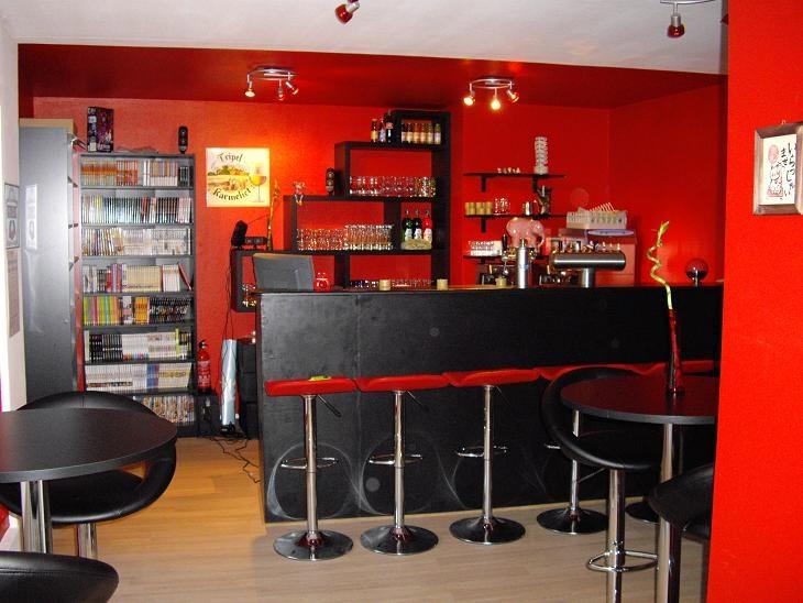 Clermont Ferrand-indoor-café manga