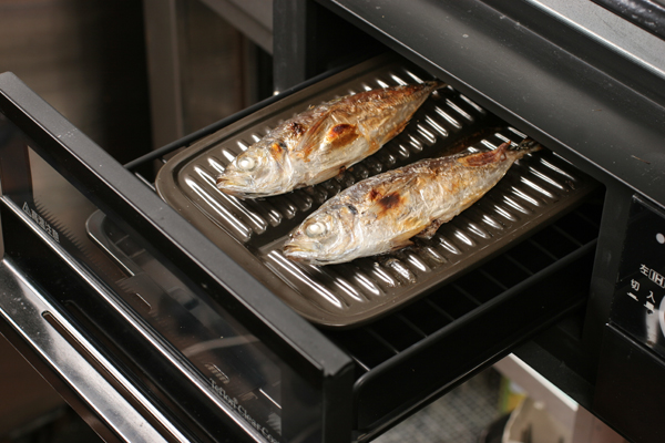 grill oven fish